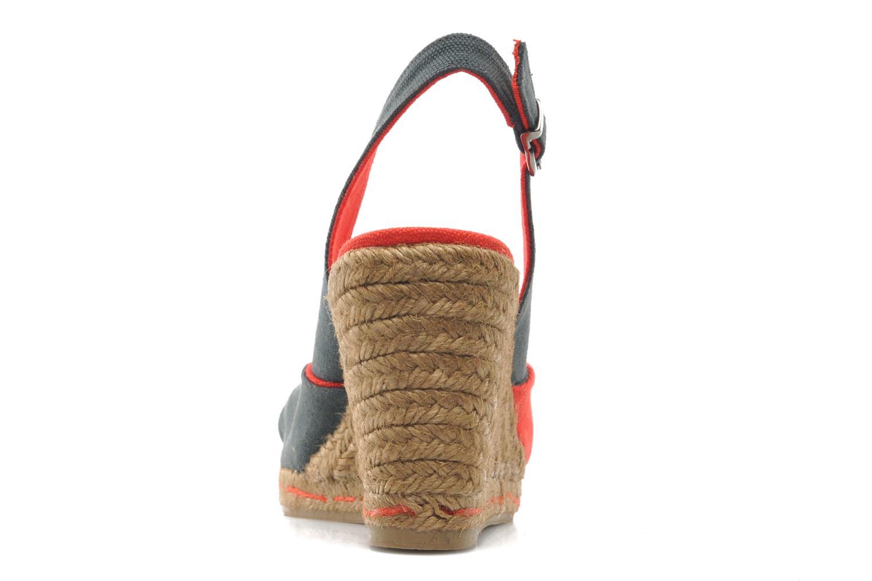Sandales et nu-pieds Castaner Casper8 Multicolore vue droite