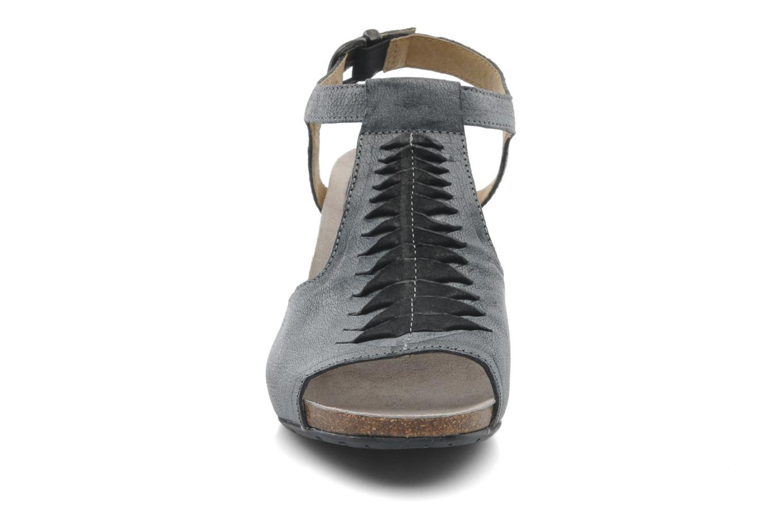 Sandalen Dkode Rosen grau schuhe getragen