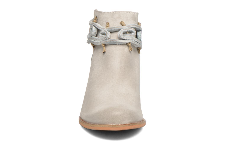 Bottines et boots Dkode Barak Blanc vue portées chaussures