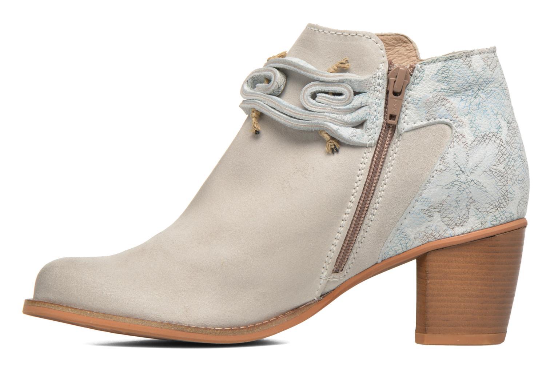 Bottines et boots Dkode Barak Blanc vue face