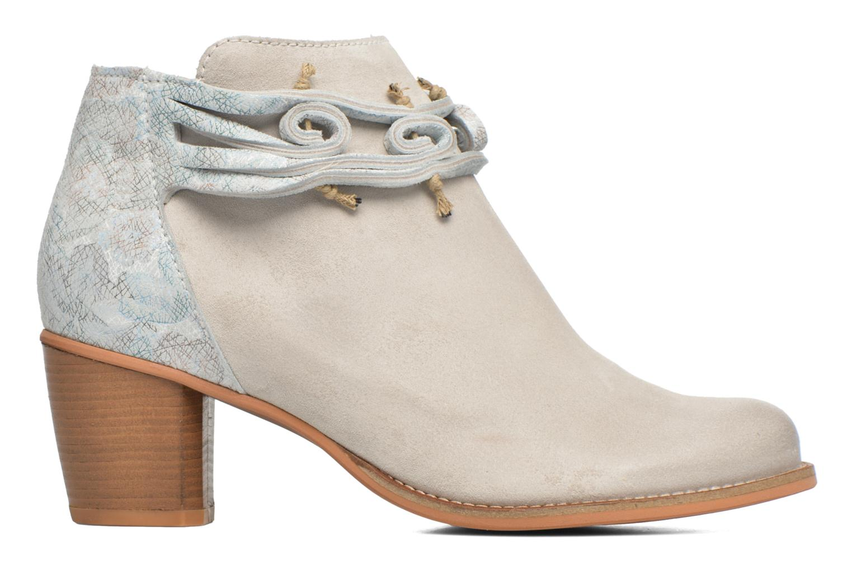 Boots en enkellaarsjes Dkode Barak Wit achterkant