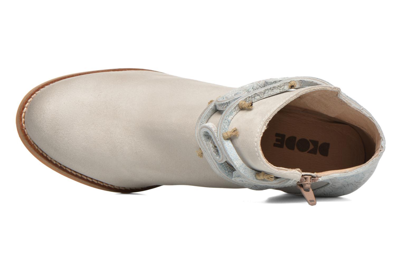Boots en enkellaarsjes Dkode Barak Wit links