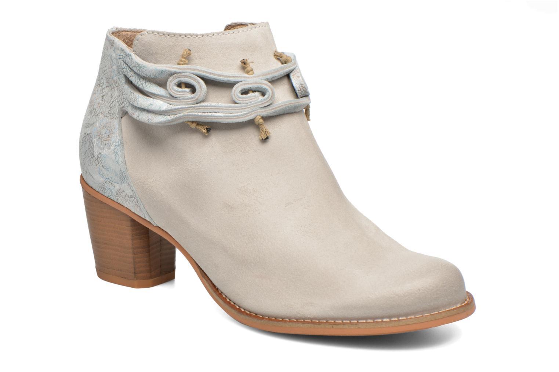 Boots en enkellaarsjes Dkode Barak Wit detail
