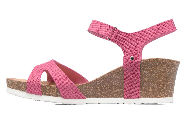 Sandalen Panama Jack Julia rosa ansicht von vorne
