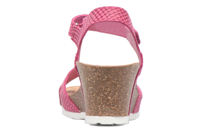 Sandalen Panama Jack Julia rosa ansicht von rechts