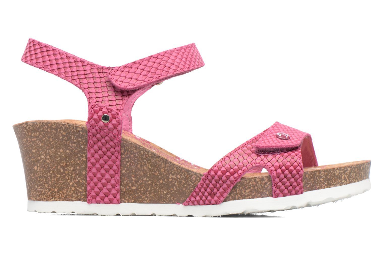 Sandalen Panama Jack Julia rosa ansicht von hinten