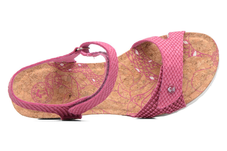 Sandalen Panama Jack Julia rosa ansicht von links
