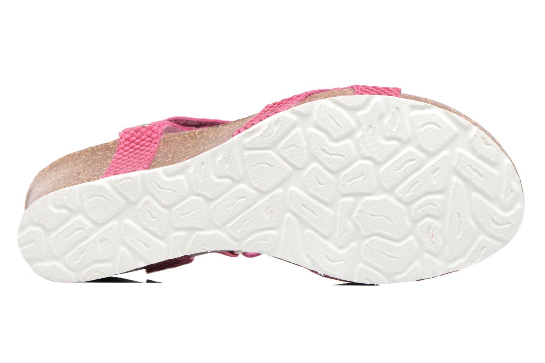 Sandalen Panama Jack Julia rosa ansicht von oben