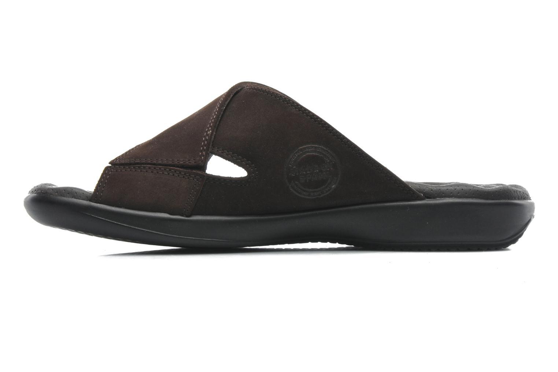 Sandalen Panama Jack Magic braun ansicht von vorne
