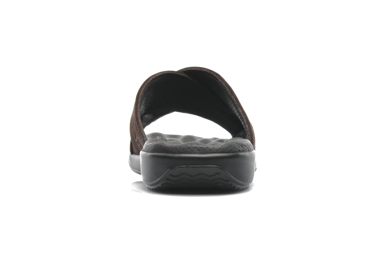 Sandalen Panama Jack Magic braun ansicht von rechts