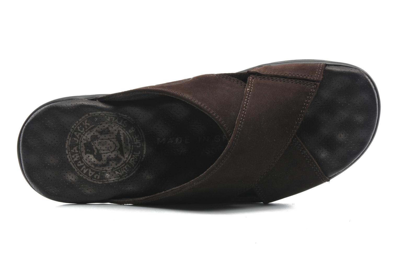 Sandalen Panama Jack Magic braun ansicht von links