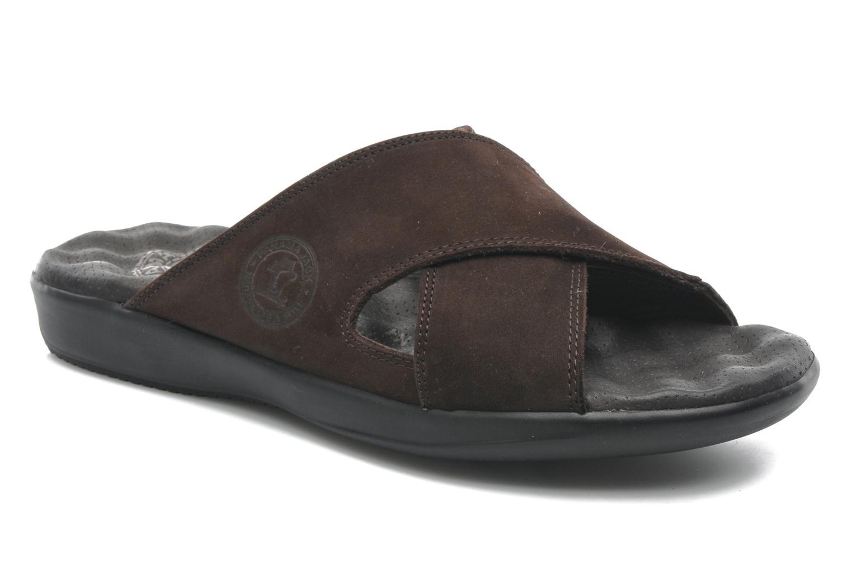 Sandaler Panama Jack Magic Brun detaljerad bild på paret