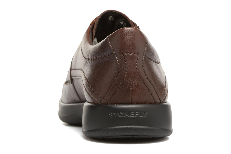 Chaussures à lacets Stonefly Season III 2 Marron vue droite