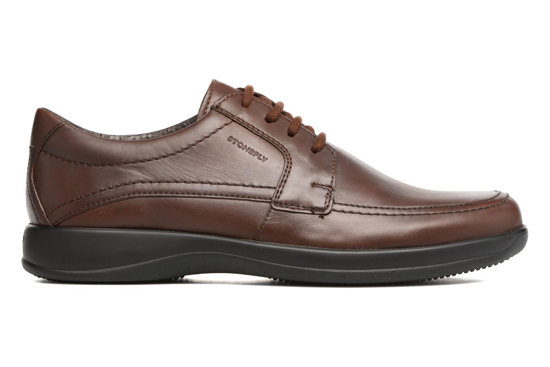 Chaussures à lacets Stonefly Season III 2 Marron vue derrière