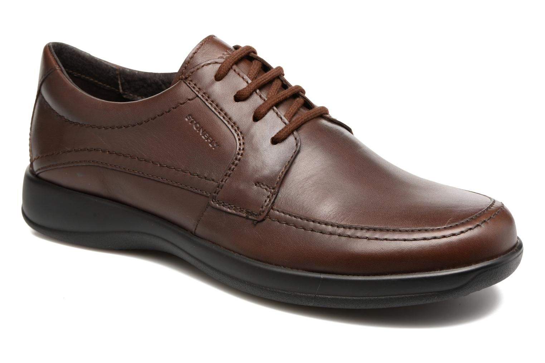 Chaussures à lacets Stonefly Season III 2 Marron vue détail/paire