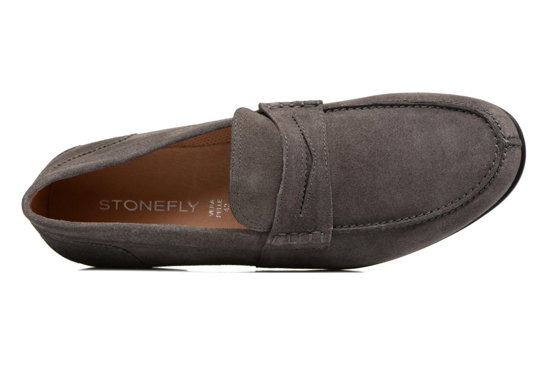 Loafers Stonefly Summer II 2 Grå bild från vänster sidan