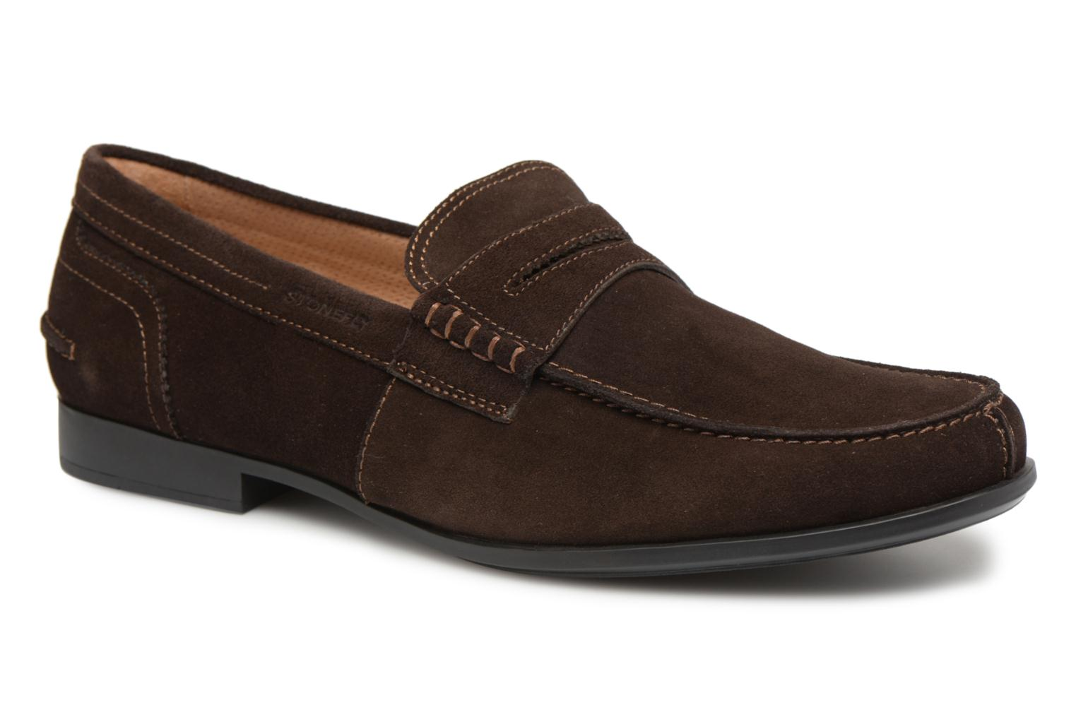 Loafers Stonefly Summer II 2 Brown detailed view/ Pair view