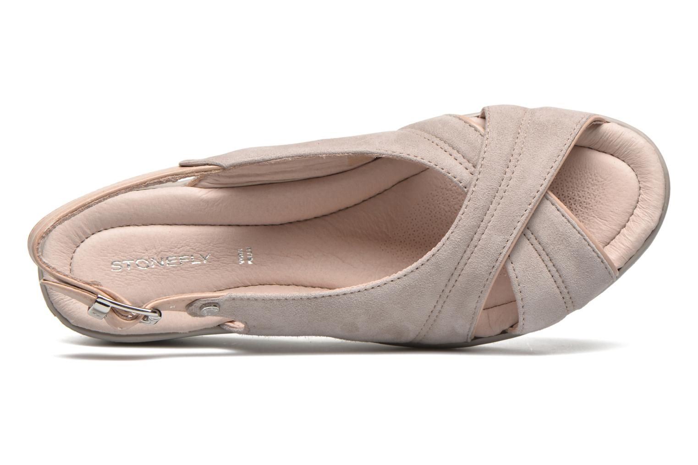 Sandales et nu-pieds Stonefly Tess 3 Beige vue gauche