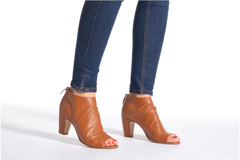 Boots en enkellaarsjes Georgia Rose Gicel Bruin onder