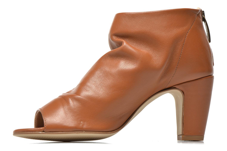 Boots en enkellaarsjes Georgia Rose Gicel Bruin voorkant