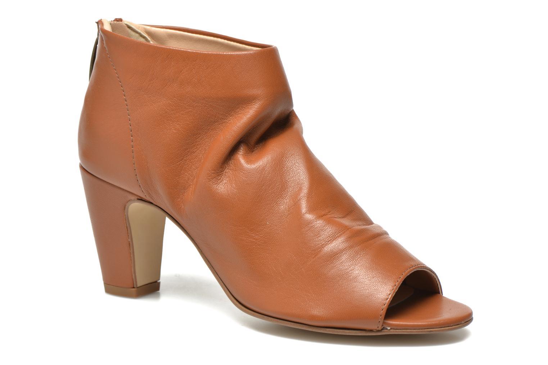 Boots en enkellaarsjes Georgia Rose Gicel Bruin detail
