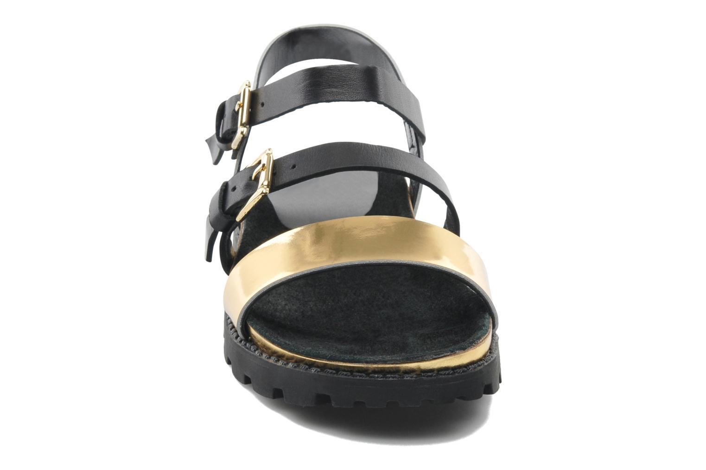 Sandales et nu-pieds Anaki Rio Or et bronze vue portées chaussures