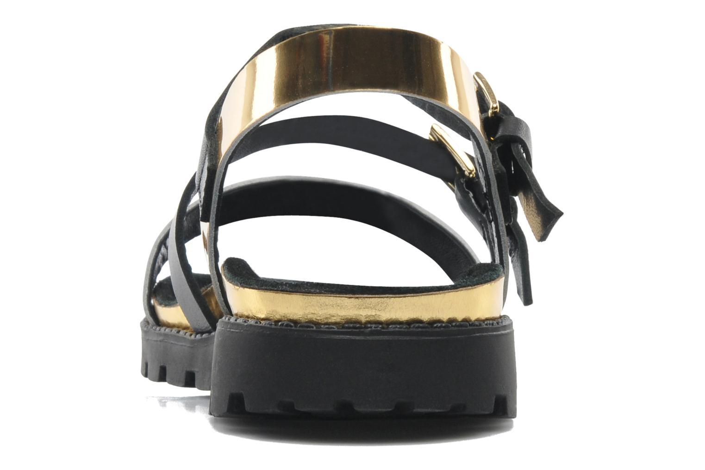 Sandales et nu-pieds Anaki Rio Or et bronze vue droite
