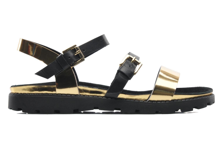 Sandales et nu-pieds Anaki Rio Or et bronze vue derrière