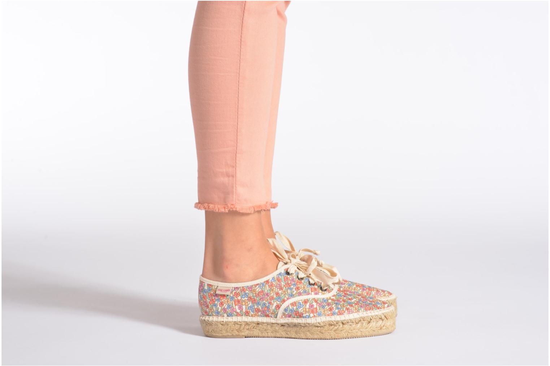 Chaussures à lacets Pare Gabia Ictum Toile Multicolore vue bas / vue portée sac