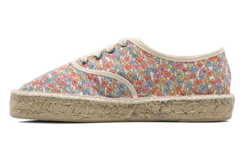 Chaussures à lacets Pare Gabia Ictum Toile Multicolore vue face