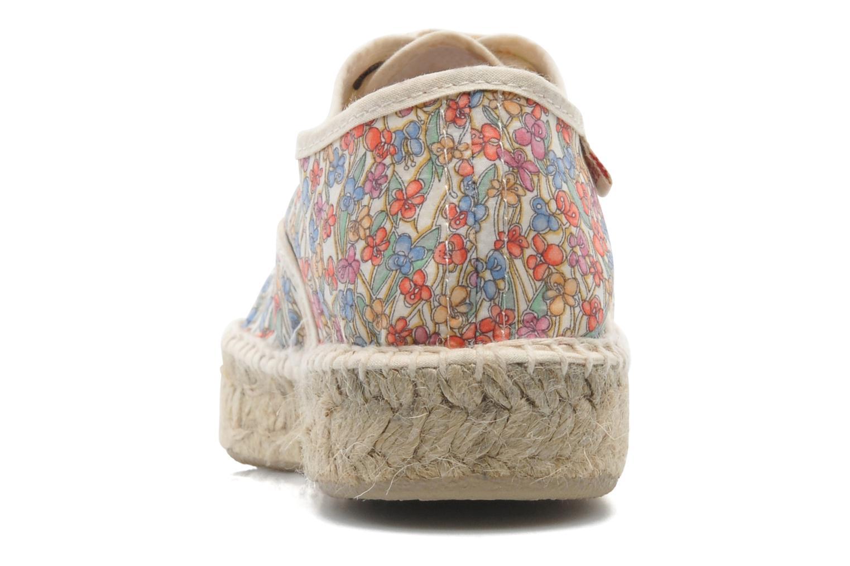 Chaussures à lacets Pare Gabia Ictum Toile Multicolore vue droite
