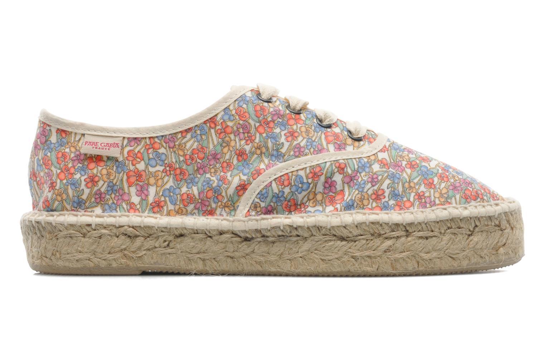 Chaussures à lacets Pare Gabia Ictum Toile Multicolore vue derrière
