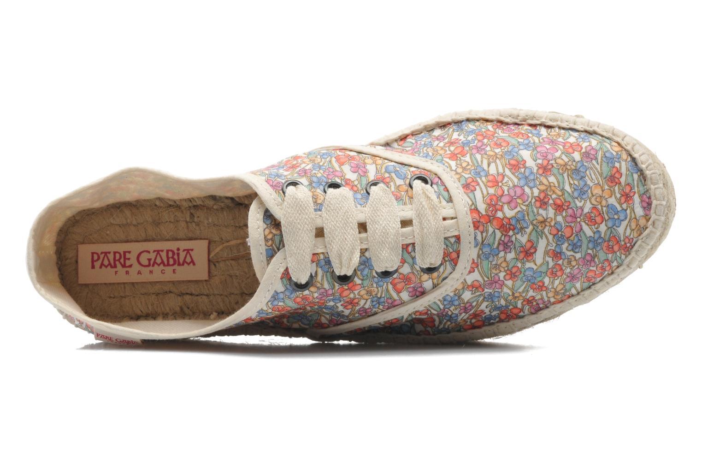 Chaussures à lacets Pare Gabia Ictum Toile Multicolore vue gauche