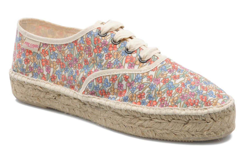 Chaussures à lacets Pare Gabia Ictum Toile Multicolore vue détail/paire