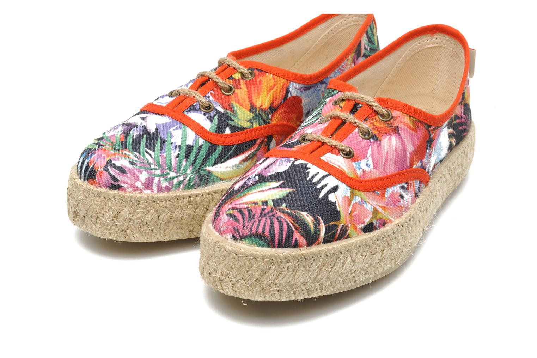 Chaussures à lacets Pare Gabia Lotus toile Multicolore vue 3/4
