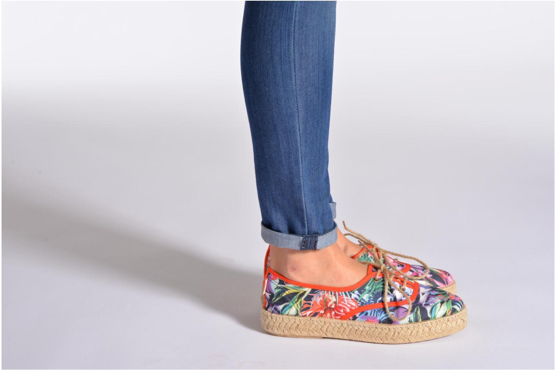 Schnürschuhe Pare Gabia Lotus toile mehrfarbig ansicht von unten / tasche getragen