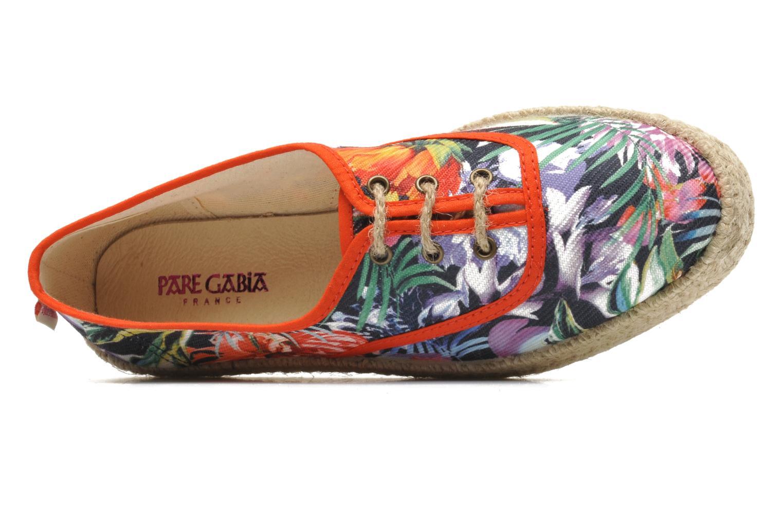Schnürschuhe Pare Gabia Lotus toile mehrfarbig ansicht von links