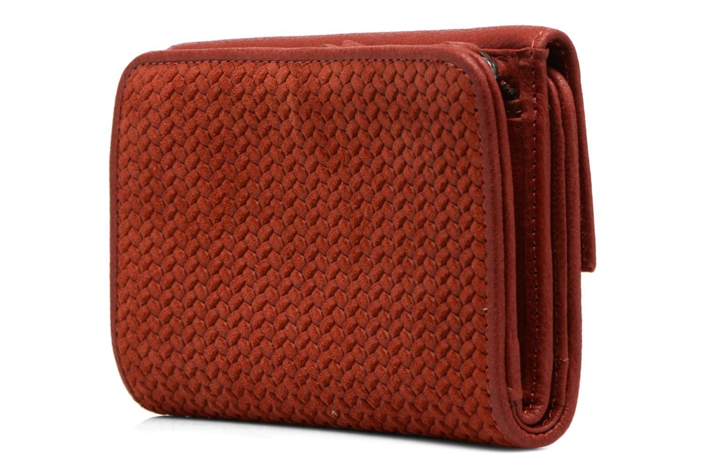 Portemonnaies & Clutches Nat & Nin Lotti rot ansicht von rechts