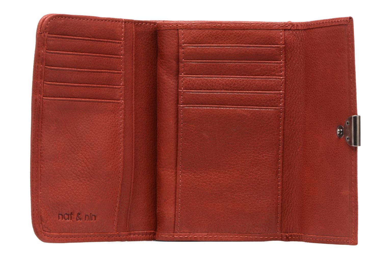 Portemonnaies & Clutches Nat & Nin Lotti rot ansicht von links