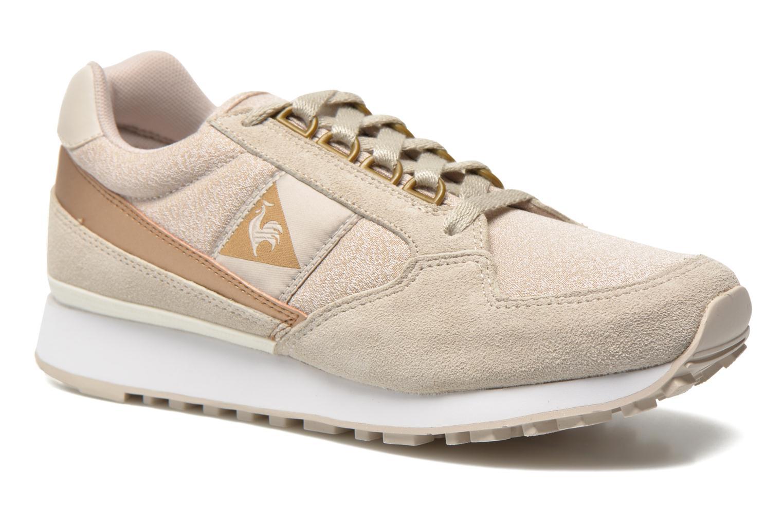 Marques Chaussure femme Le Coq Sportif femme Eclat W Metallic 2 Gray-Morn Gold