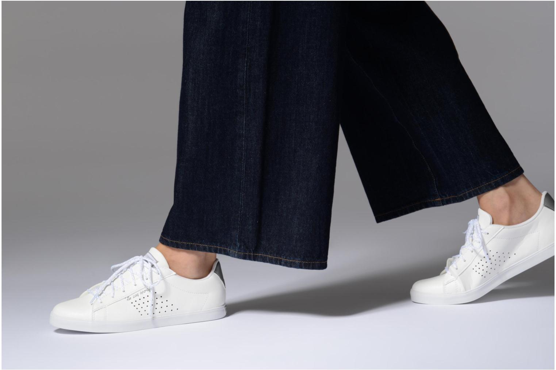 Sneaker Le Coq Sportif Agate LO S weiß ansicht von unten / tasche getragen