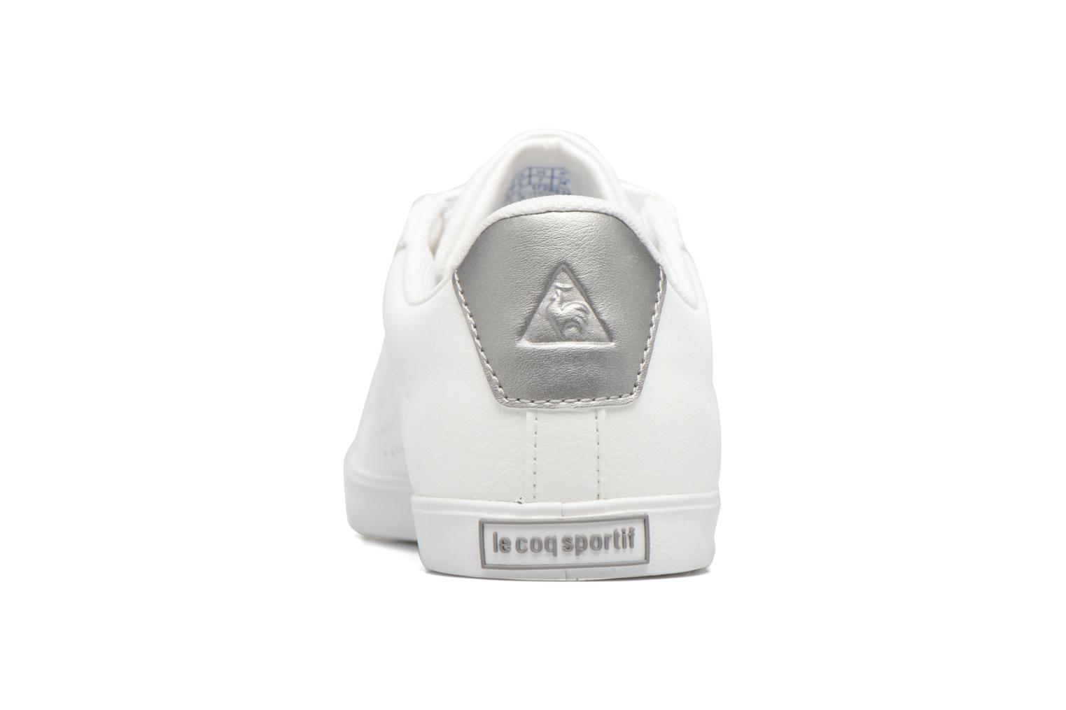 Trainers Le Coq Sportif Agate LO S White view from the right