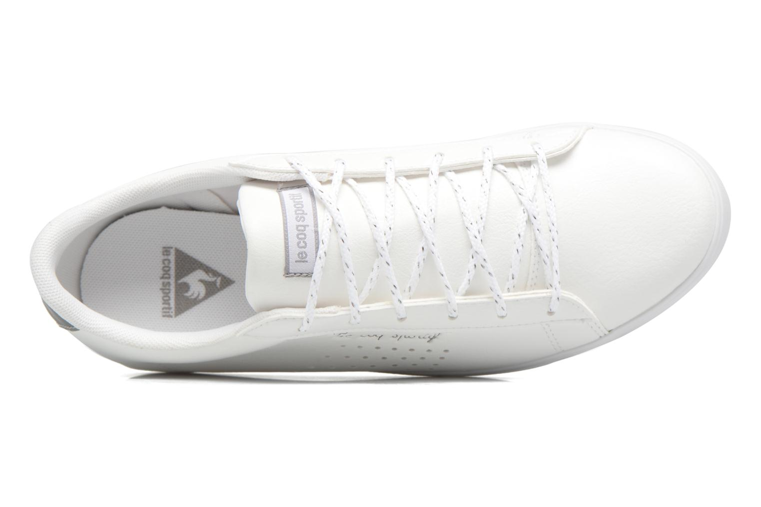 Trainers Le Coq Sportif Agate LO S White view from the left