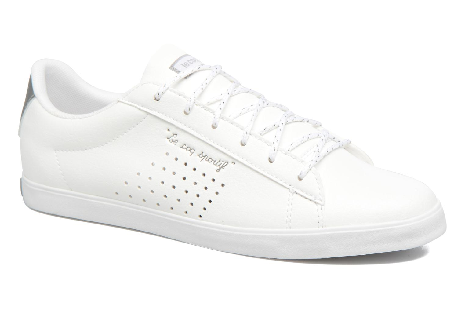 Trainers Le Coq Sportif Agate LO S White detailed view/ Pair view