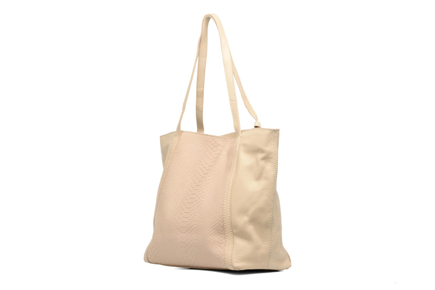Handbags Loxwood Shopper Marilou Beige view from the right