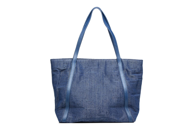 Sacs à main Loxwood Shopper Marilou Lin & Cuir Bleu vue face