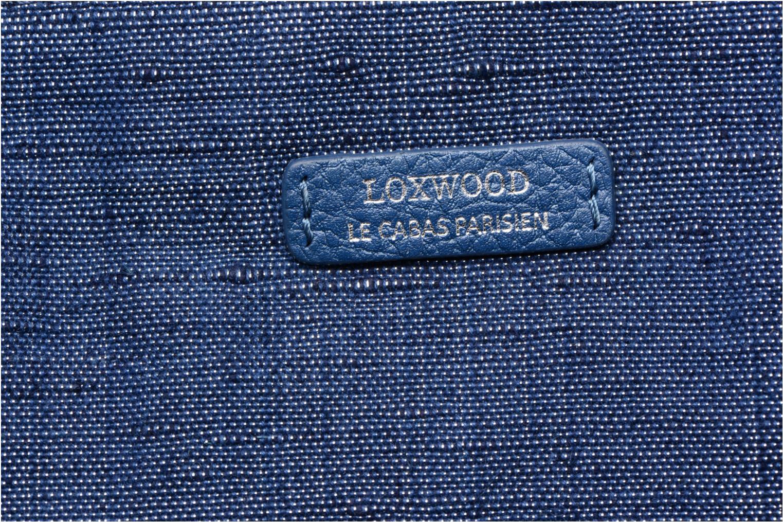 Sacs à main Loxwood Shopper Marilou Lin & Cuir Bleu vue gauche
