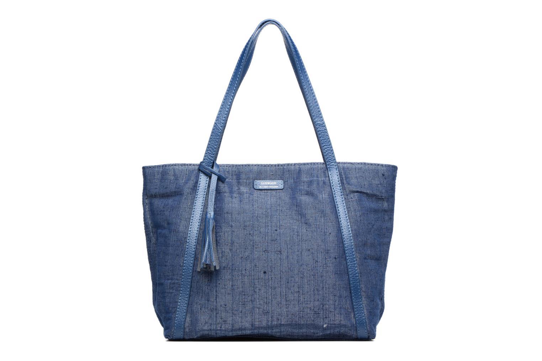 Sacs à main Loxwood Shopper Marilou Lin & Cuir Bleu vue détail/paire