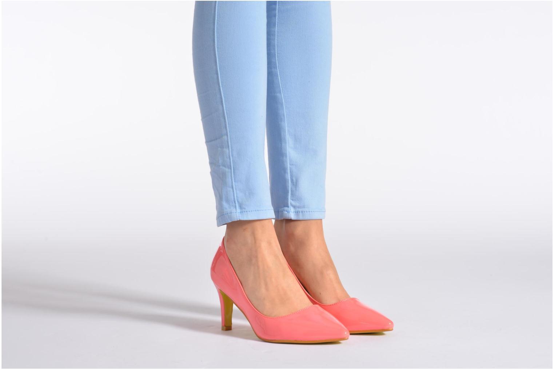 Escarpins I Love Shoes Kivari Noir vue bas / vue portée sac