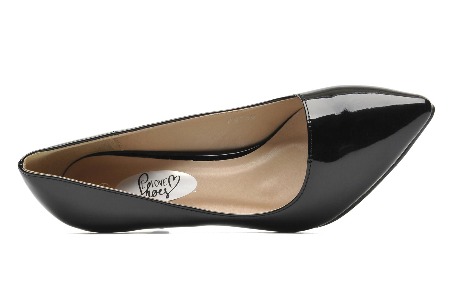 Escarpins I Love Shoes Kivari Noir vue gauche